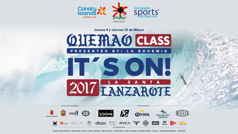 "III Campeonato Internacional de Surfing & Bodyboard ""Quemao Class 2017"""