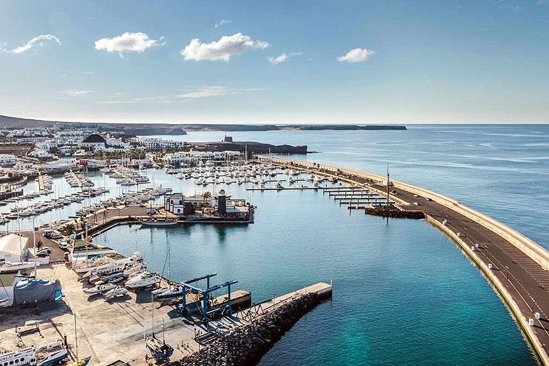 Puertos y marinas. Soltar el ancla en las Islas Canarias