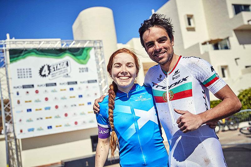 Sergio Mantecón e Isla Short campeones del 4 Stage MTB Lanzarote 2018