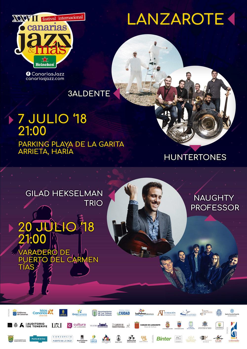 Canarias Jazz & Más Heineken Lanzarote 2018