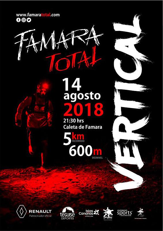 Vertical de Famara Total 2018