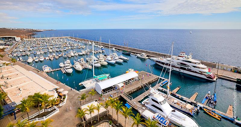 Puerto Calero. Una marina de lujo en Lanzarote